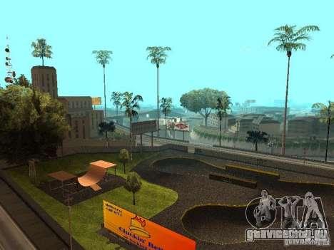 New SkatePark для GTA San Andreas второй скриншот