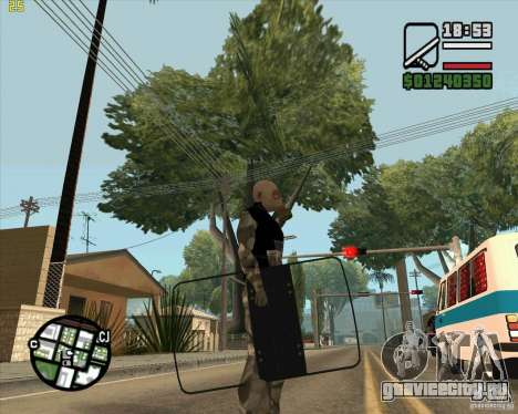 Броне щит из Call of Duty Modern Warfare 2 для GTA San Andreas второй скриншот