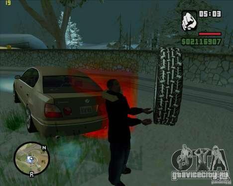 Запасная резина для GTA San Andreas