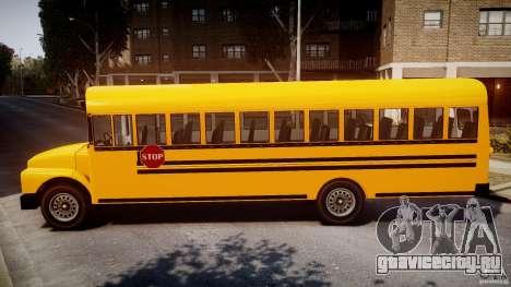 School Bus [Beta] для GTA 4 вид слева