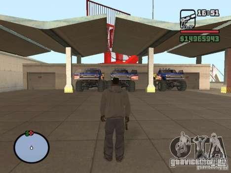 Внедорожная Трасса V 2.0 для GTA San Andreas третий скриншот