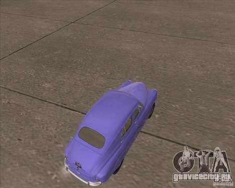 ГАЗ М72 для GTA San Andreas вид справа