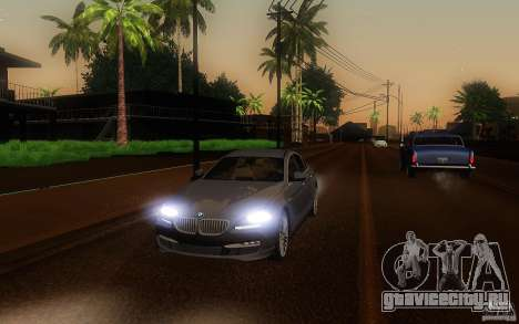 BMW 6 Series Gran Coupe 2013 для GTA San Andreas вид сбоку