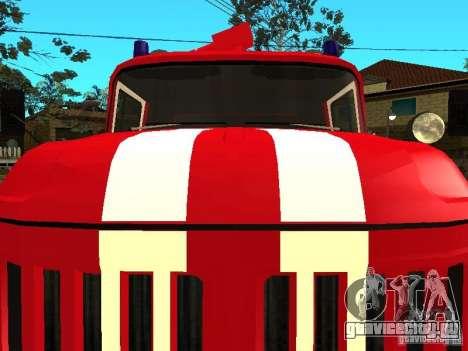 ЗиЛ 131 пожарная для GTA San Andreas вид слева