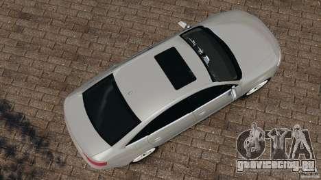 Audi RS6 2010 v1.1 для GTA 4 вид справа