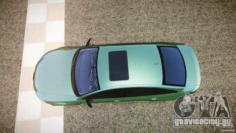 Audi RS6 2009 для GTA 4 вид справа