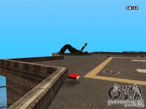 Паркур Мод для GTA San Andreas одинадцатый скриншот