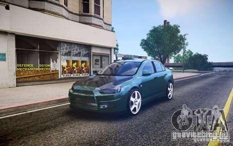 Mitsubishi Lancer Evo X Drift для GTA 4