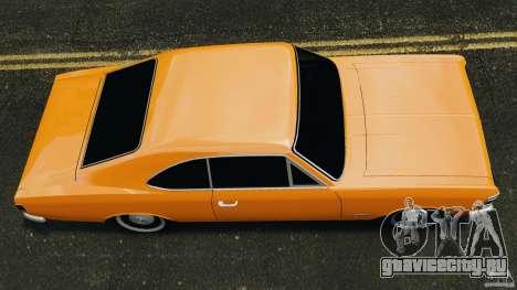 Chevrolet Opala Gran Luxo для GTA 4 вид справа