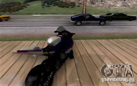 BMW S1000 RR для GTA San Andreas вид сзади