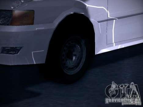 Toyota Chaser 100 для GTA San Andreas вид сзади