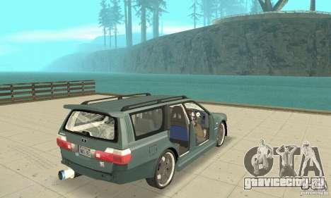 Nissan Stagea GTR для GTA San Andreas салон
