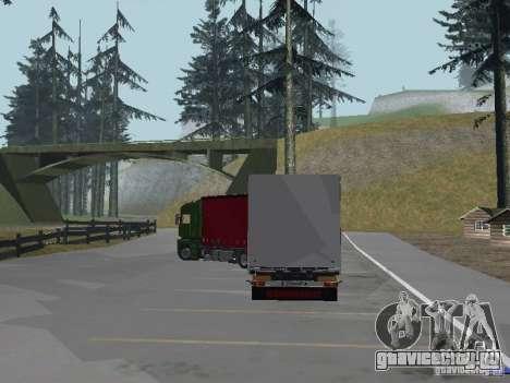 Прицеп к Renault Magnum для GTA San Andreas вид слева