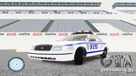 Ford Crown Victoria 2003 NYPD для GTA 4