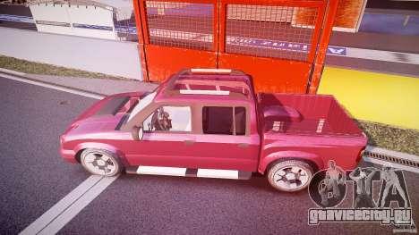 Chevrolet S10 для GTA 4 салон