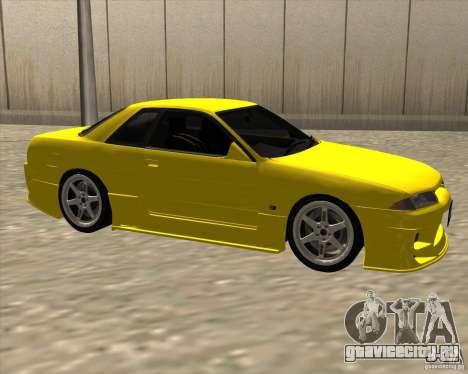 Nissan Skyline R32 Bee R для GTA San Andreas вид справа