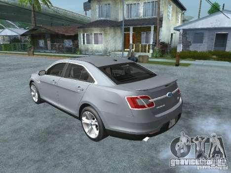 Ford Taurus для GTA San Andreas вид слева