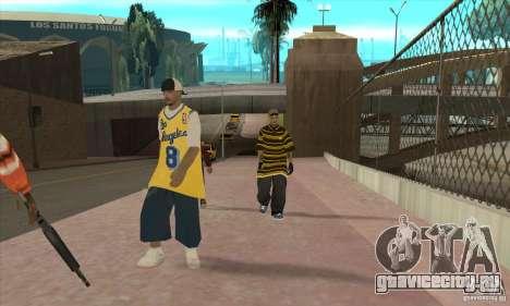 Замена всех скинов Los Santos Vagos Gang для GTA San Andreas