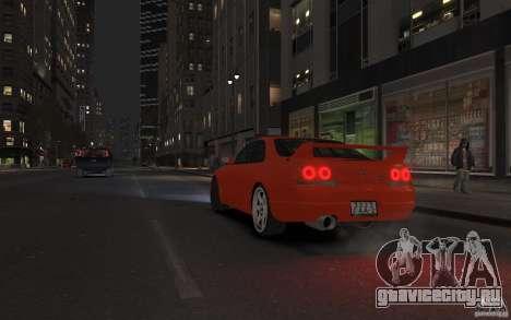 Nissan Skyline для GTA 4 вид слева
