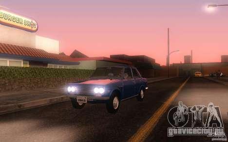 Datsun 510 4doors для GTA San Andreas вид слева