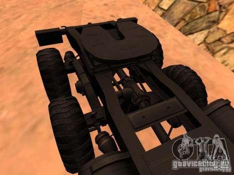 КрАЗ 260V для GTA San Andreas вид изнутри