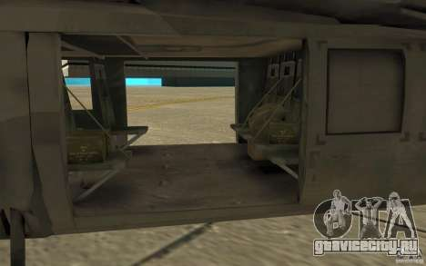 UH-80 для GTA San Andreas вид сзади