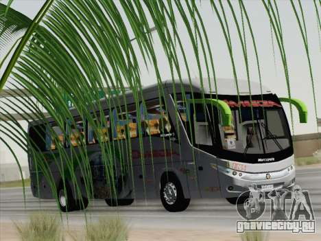 Marcopolo Paradiso 1200 G7 для GTA San Andreas вид изнутри