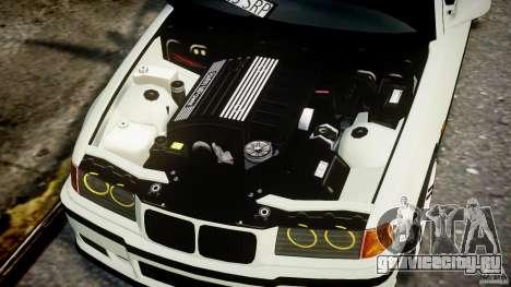BMW e36 M3 для GTA 4 вид справа
