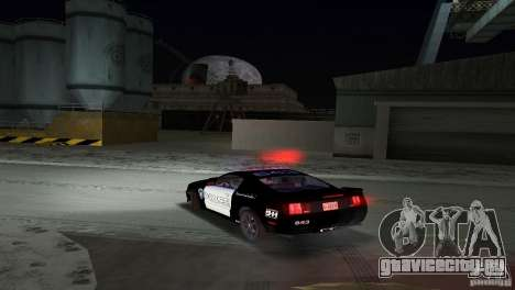 Saleen S281 Barricade 2007 для GTA Vice City вид изнутри