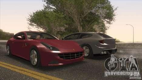 Ferrari FF 2011 V1.0 для GTA San Andreas колёса