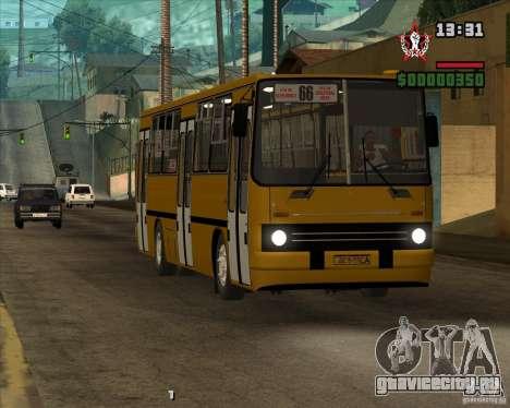 Ikarus 260.04 для GTA San Andreas вид сбоку