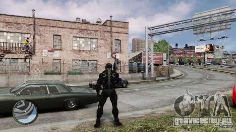 Crysis 2 NanoSuit v4.0 для GTA 4 второй скриншот