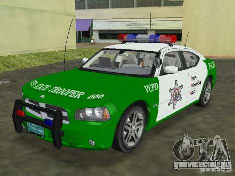 Dodge Charger Police для GTA Vice City