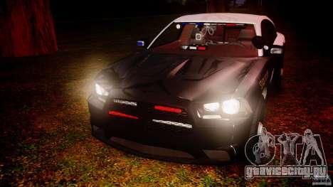 Dodge Charger 2012 Florida Highway Patrol [ELS] для GTA 4 вид сбоку