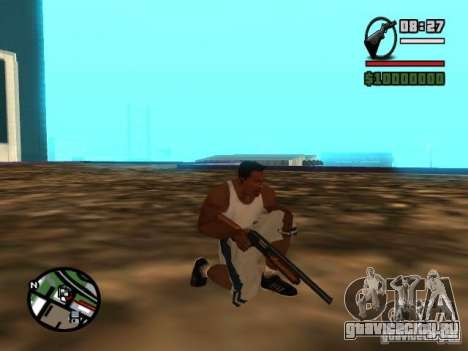 Gangster Weapon Pack для GTA San Andreas пятый скриншот
