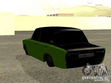 ВАЗ 2106 HUlK для GTA San Andreas вид слева