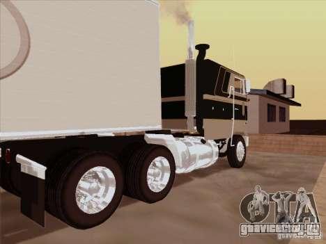Peterbilt 352 для GTA San Andreas вид справа