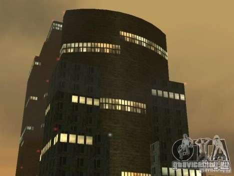 Новые текстуры небоскрёбов LS для GTA San Andreas третий скриншот