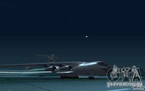 ИЛ 78 Танкер для GTA San Andreas вид изнутри