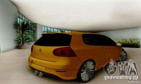 Volkswagen Golf R32 для GTA San Andreas вид слева