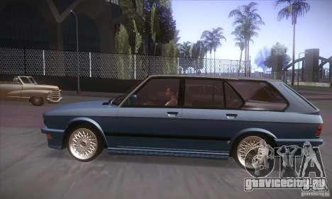 BMW E28 Touring для GTA San Andreas вид сзади слева