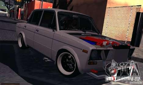 ВАЗ 2106 Turbo для GTA San Andreas вид слева