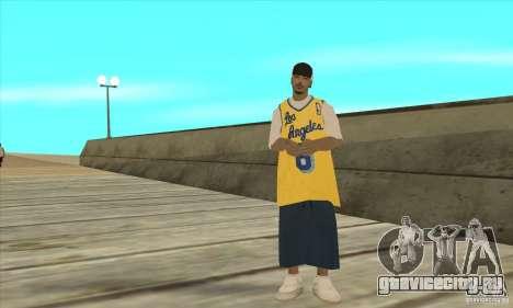 Замена всех скинов Los Santos Vagos Gang для GTA San Andreas пятый скриншот