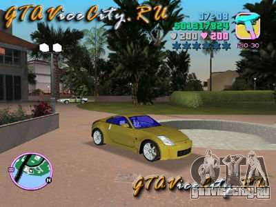 NISSAN Z350 для GTA Vice City