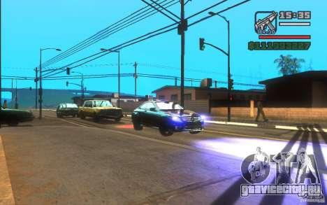 ENBSeries by Gasilovo v2 для GTA San Andreas третий скриншот