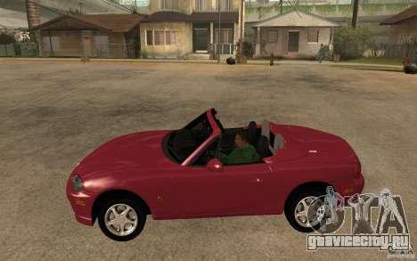 Mazda MX5 - Stock для GTA San Andreas вид слева