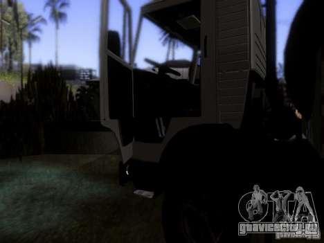 КамАЗ 53212 Молоковоз для GTA San Andreas вид сбоку