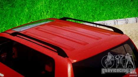 Toyota Land Cruiser 200 2007 для GTA 4 вид снизу