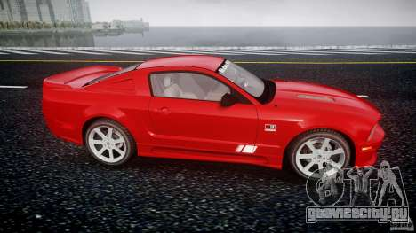 Saleen S281 Extreme - v1.2 для GTA 4 вид изнутри