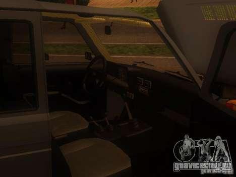 ВАЗ-2131 НИВА для GTA San Andreas вид сзади слева